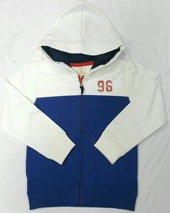 White And Blue Hoodie