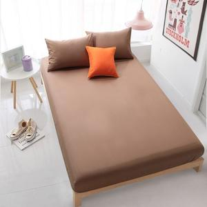 Jersey Fitted Bed Sheet - Brown