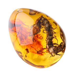 Gemstone Pendant Insects Amber Pendant Originality Resin 5 Color Ornament Jewellery Insects Pendant Necklace Gemstone