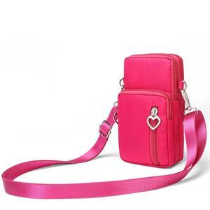 MissFortune Fashion Ladies Nylon Solid Color Vertical Shoulder Bag Diagonal Bag Handbag