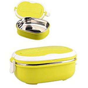 MAGS STOREHigh Quality Stainless Steel Square Lunch Box