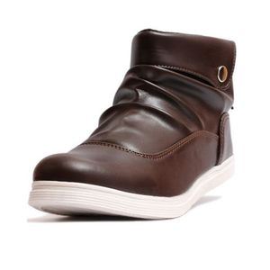 Choco Brown Back Laces Sneaker
