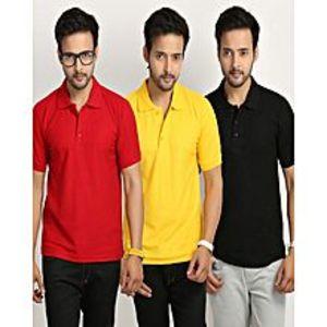 Daraz FashionPack Of 3 Polo Shirts For Men