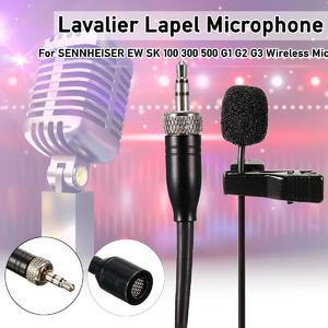 【 Flash Deal】Lavalier Lapel Microphone For SENNHEISER EW SK 100 300 500 G1 G2 G3 Wireless  Wireless lavalier microphoneMic