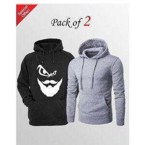 Pack of 2 Hoodie for Men