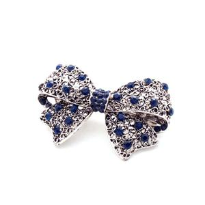Classic Gemstone Hairpin Side Clip Rhinestone For Women Jewelry 04#