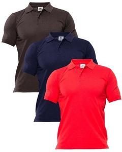 Bundle Of 3 Polo Shirt For Men