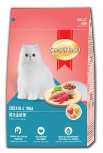 Smart Heart Chicken & Tuna Adult Cat Food 480 GM