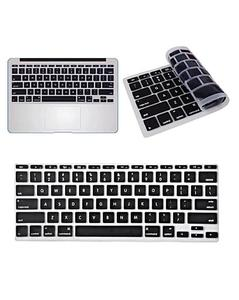 MacBook Laptop Keyboard Protector (Pattern 1) - Black