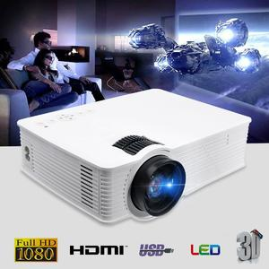 Thinyou GP-9 3000 Lumens HDMI WIFI HD 1080P LCD Home Theatre Video Projector LED AU Plug