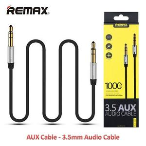 Remax RL-L200 3.5mm Plug Aux Stereo Audio 200cm Connects Devices Cable - Black