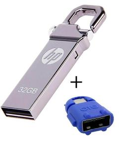 Pack of 2 - 32GB USB With OTG Adapter -  Silver & (OTG-N/A)