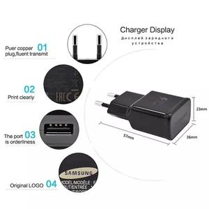 Fast Charging Quick Charge travel charger 9V 1.67A/5V For Samsung Galaxy S8 S7 S6 Edge S3 Note 8 Phone Usb Wall Charger Adapter