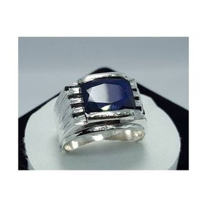 Natural Blue Sapphire Good luster Handmade Ring