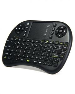 Mini Wireless Keyboard with Touchpad Mouse UKB-500-RF - Black