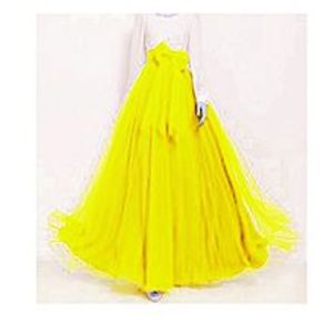 Aiza boutiqueYellow Net And Silk Dress For Women