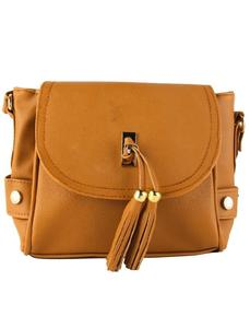 Mustard Cross Body Ladies Hand Bag