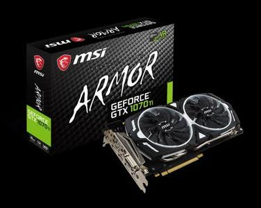 Geforce  GTX 1070Ti Armor 8GB Graphic Card