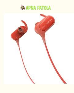 Mdr-Xb50Bs In-Ear Bluetooth Headphones - Red