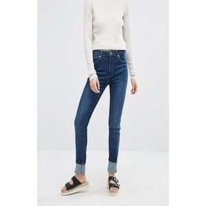 Blue Denim Slim Fit Jeans for Women - A&F-BSJ-01
