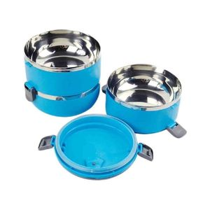 Deal Souk 3 Layer Stainless Steel Lunch Box