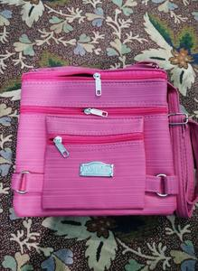 Fancy Shoulder Bag Pink - 5 Pockets - Purse - Hand Bag - Hanging Bag - Ladies Clutch, Ladies Purse, Fancy Clutch, Fancy Bag, For Girls, Hand Clutch, Hand Purse, Ladies Handbag, clutches, fancy handbag, handbag for girls, fancy hand bag, bags