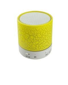 LED Bluetooth Mini Speaker - Yellow