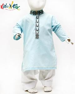 Ferozi Embroidered Kurta Shalwar 2 pc for Boys