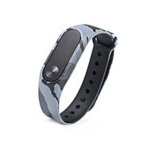 Cool GadgetsStrap For Mi Band 2 - Camouflage Grey