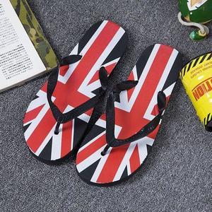 Mens Summer Flip Flops Fashion Beach Slippers Sandals-Black