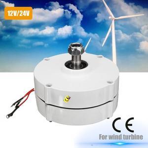 100W 12V/24V Three-phase Current PMSG Generator White For Wind Turbine