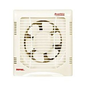 "Royal Fans Exhaust Plastic fan 8""-Off White"