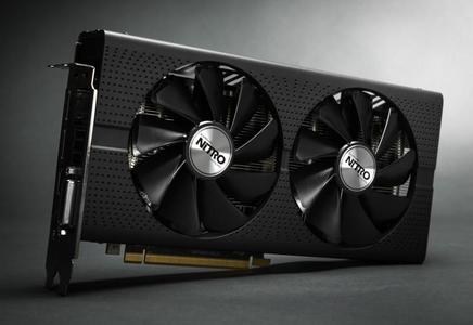AMD RX 480 Nitro 8GB OC Gorgeous Backplate RGB Lighting