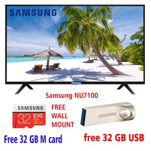 SAMSUNG NU5300 5 series  UHD 4K LED FLAT SMART TV 43 INCH WITH ALL ANDROID FEATURES INCLUDED AND  FREE WALL MOUNT AND 32 GB USB AND 2 YEARS ALL PAKISTAN WARRANTY
