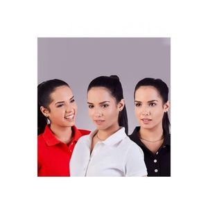 Contessa Pack of 3 Poly Cotton Polo T Shirt for Women
