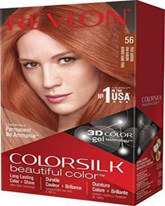 Color Silk 3D Technology USA For Men and Women No 56 True Auburn