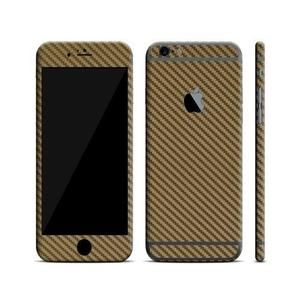 IPhone 6/6s Plus Skin Protector - Golden Carbon