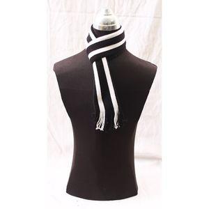 Wool Irani Muffler For Men - Black & White