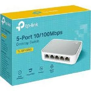 TP-Link TL-SF1005D 5-Port 10/100Mbps Desktop Switch (White/Grey)
