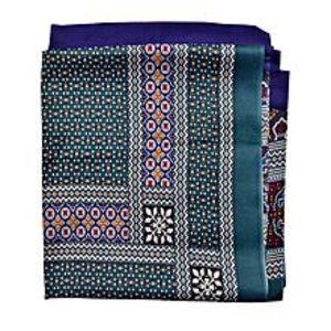 SmartUBlue & Green Silk Shawl For Women