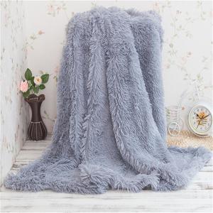 Large Soft Warm Throw Over Rug Bedding Blanket Sofa Fluffy Shaggy Cozy Bedspread # 130x160cm