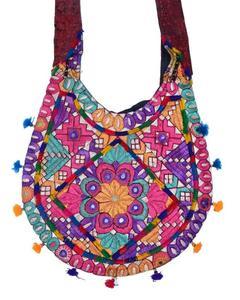U-Shape Shoulder hand bag BigHand Made-Multi Color