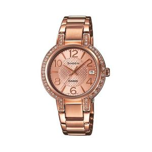SHE-4804PG-9AUDR - Stainless Steel Sheen Analog Watch For Women - Rose Gold