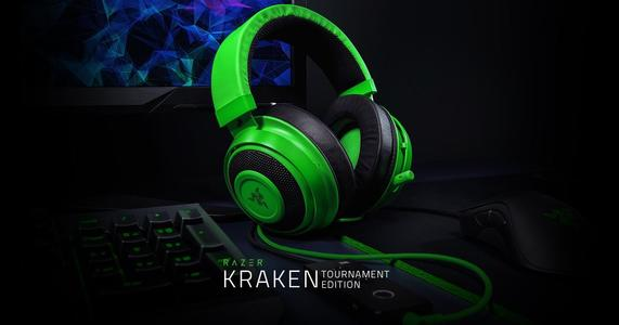 Kraken Tournament Edition Gaming Headset (RZ04-02051100-R3M1) Green Razer