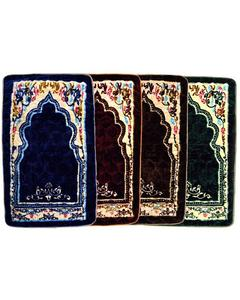 Pack of 4 Fiber Qulited Jai Namaz / Prayer Mats