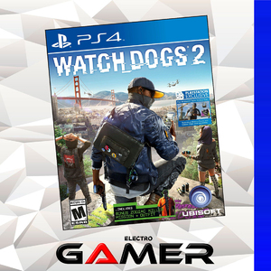 Ps4 Watch Dogs 2 PS4 Games PlayStation 4 Games