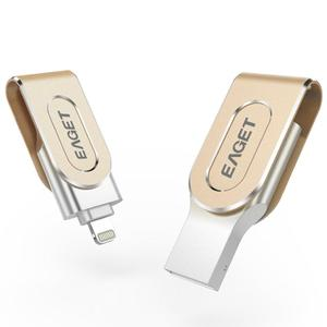 EF EAGET I80 For iPhone USB3.0 OTG Flash Drives 32GB/ 64GB/ 128G USB Stick