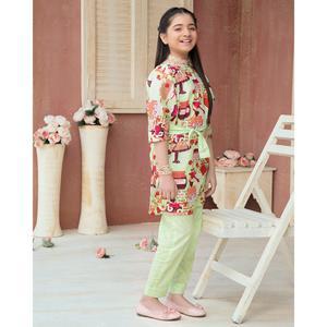 SITARA STUDIO Sapna lawn Collection Multicolor Lawn 2PC Unstitched Suit For Women - 6123 C (Un-stitched)