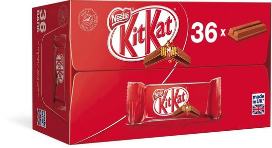 Kit Kat Chocolate 2 Fingers Pack of 36 Imported