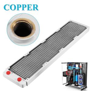 480mm Copper Computer Water Cooling Radiator Heatsink Cooler Ultra-thin 13 Tubes